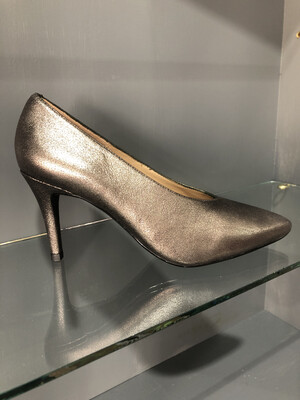 Tani - Leather Metal Heel