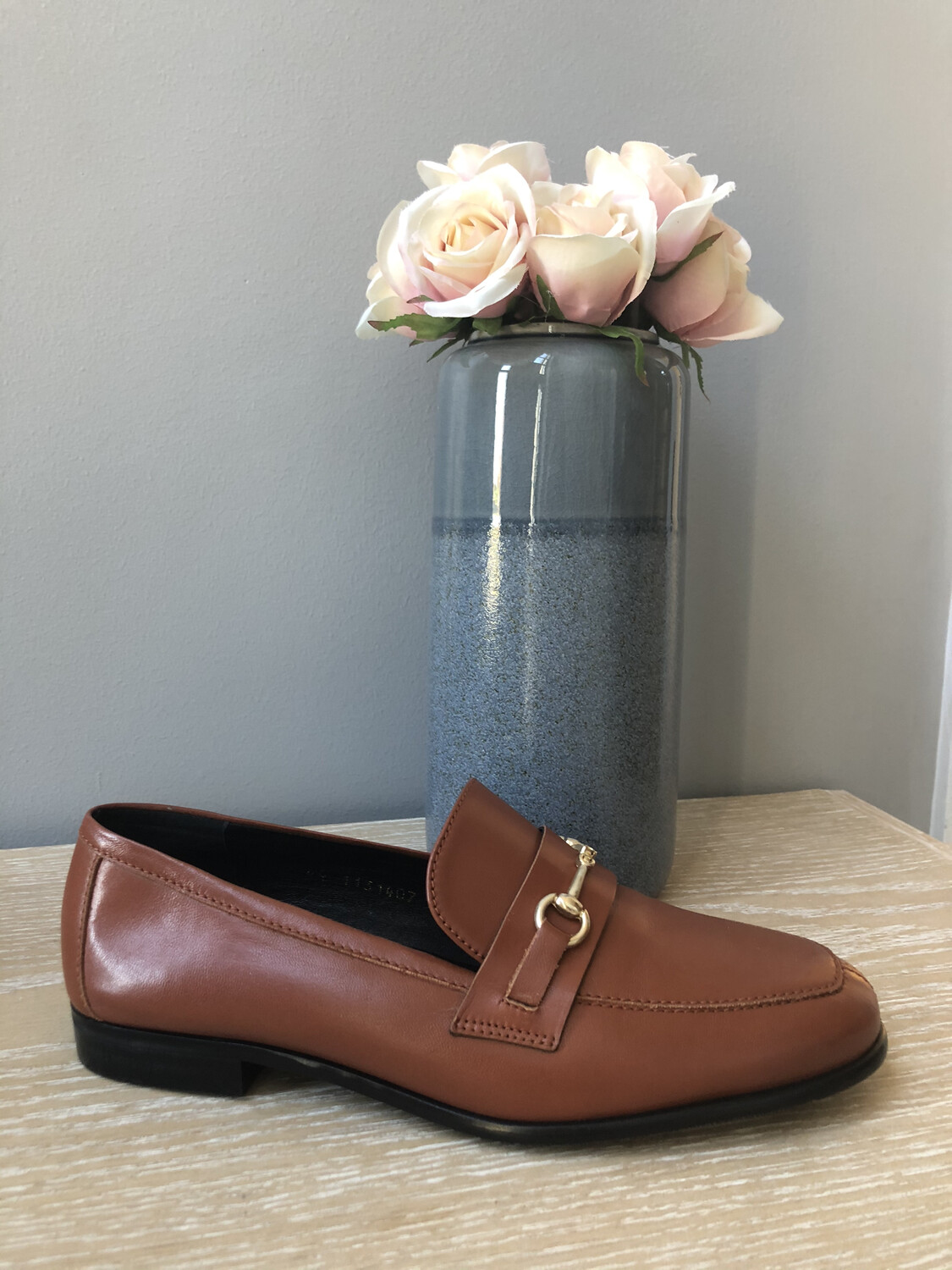 Classic Tan Leather Loafer