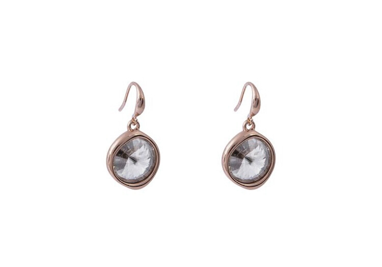 N209EAD Silver Shade Earrings
