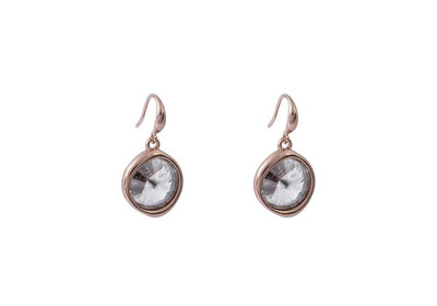 N209EAD Silver Shade Earrings