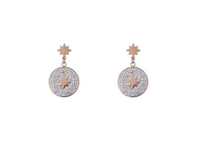 N164EAR Esme ROSE Gold Earrings