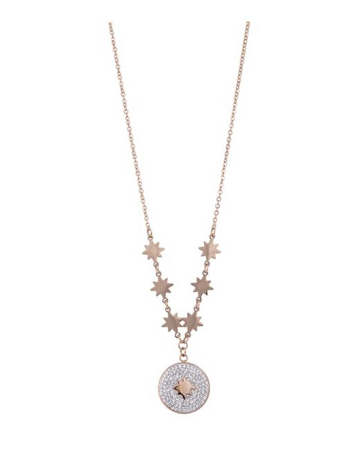 N163NAR Esme Rose Gold Necklace