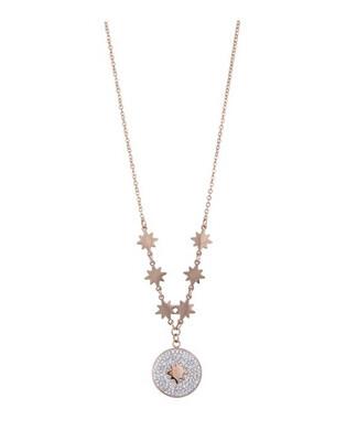 N163NAR Esme Rose Gold Necklace