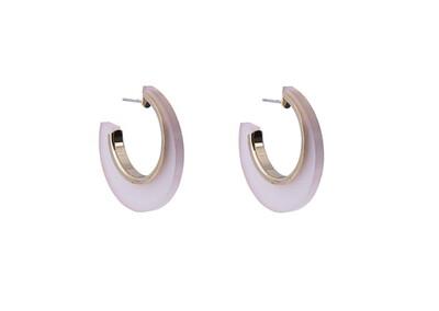 N219EAD Opaque Pink Hoop