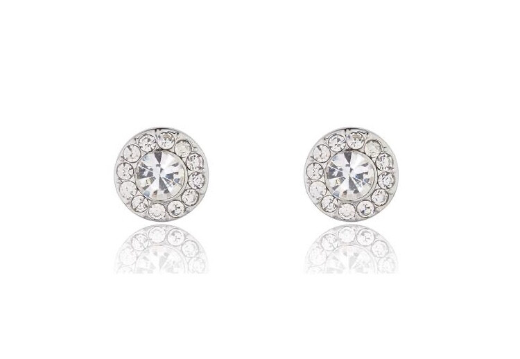 M542ECX Gabriela Rhodium Earrings
