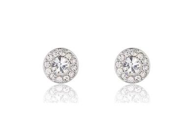 M542ECX Gabriela Rhodium Earrings