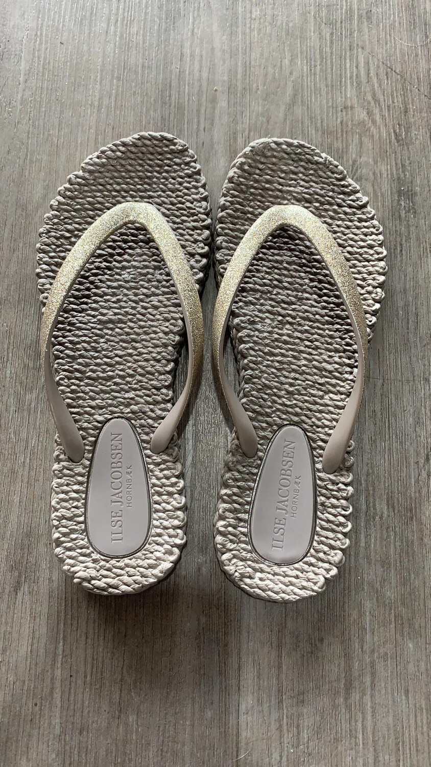 Bronze Metallic Flip Flop