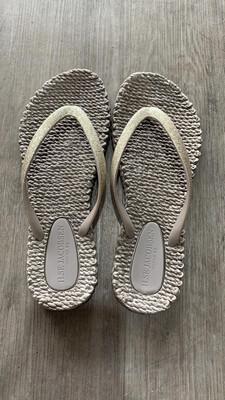Bronze Metallic Flip Flop