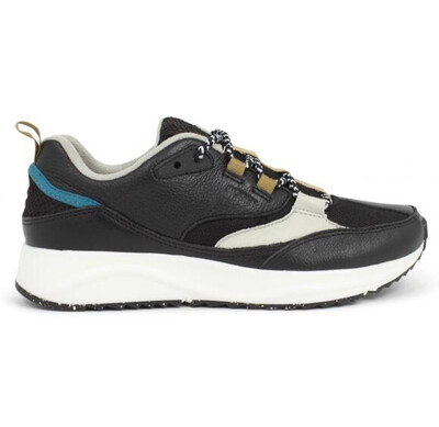 Malou Leather Fifty Black Trainer