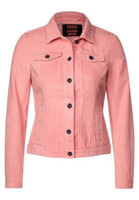 Bright Rose Denim jacket