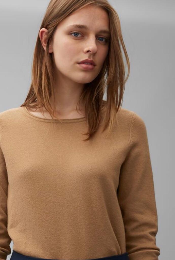 True Camel Cotton Wool Knit