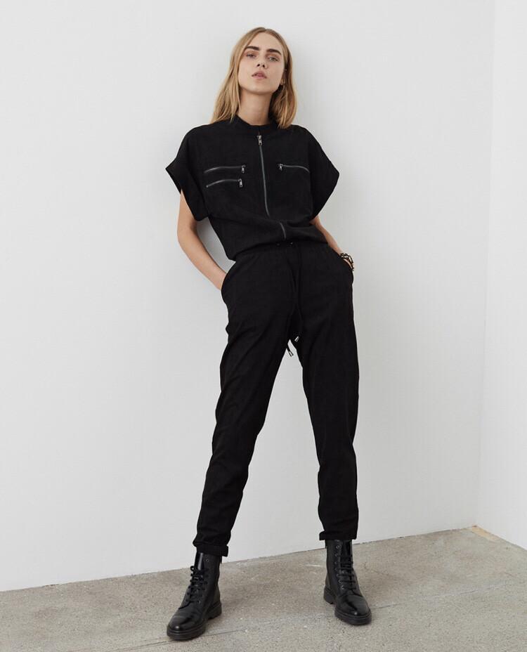 S203280 Herle Black Jumpsuit