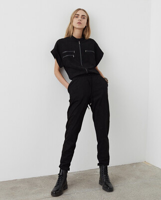S203280 Herle Black Jumpsuit