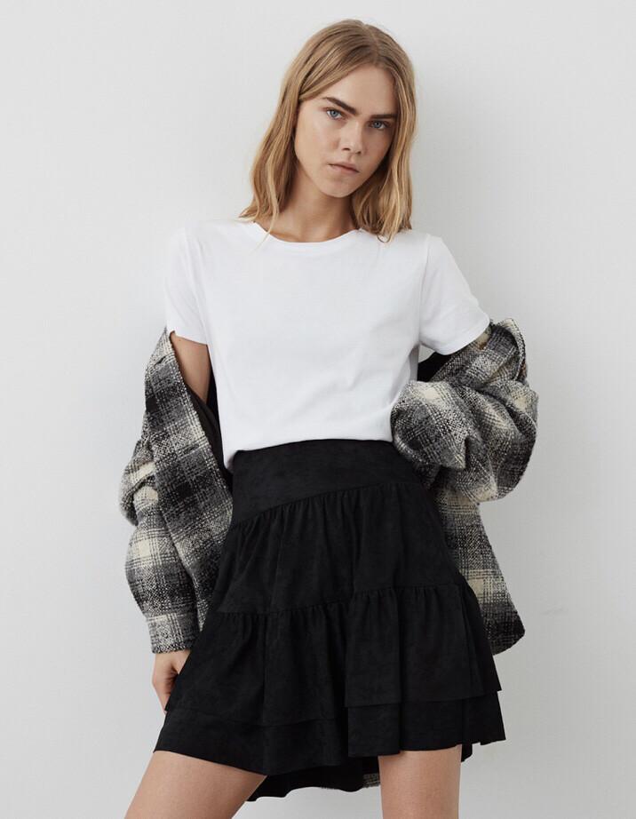 S203222 Black Polly Skirt