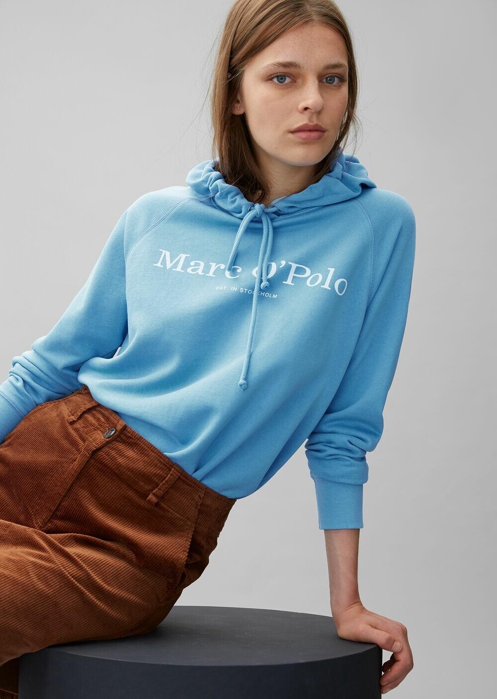 Baby Blue Hooded Sweatshirt