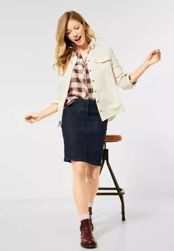 Denim Rinsed Style Skirt