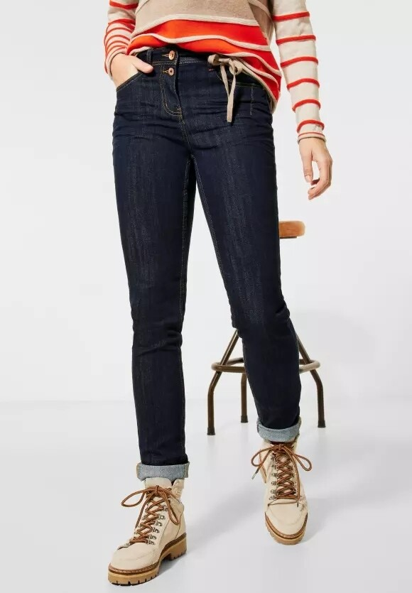 Denim Toronto Straight Rinsed Jeans