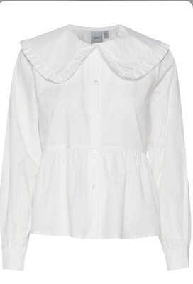 Cloud Dancer Peter Pan Collar Blouse