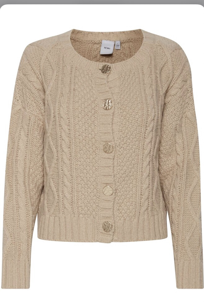 Oxford Tan Cardigan