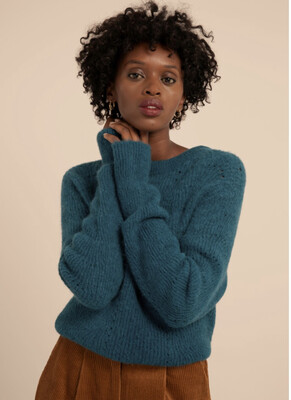 Teal Knit Jumper