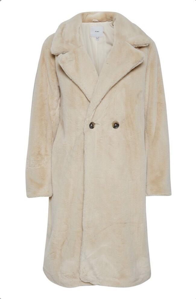 Tapioca Below Knee Length Coat