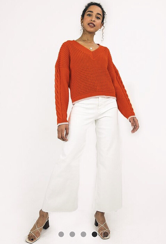 Burnt Orange Emma Jumper