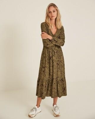 Khaki Print Dress