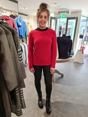 Red 100% Cotton Knit