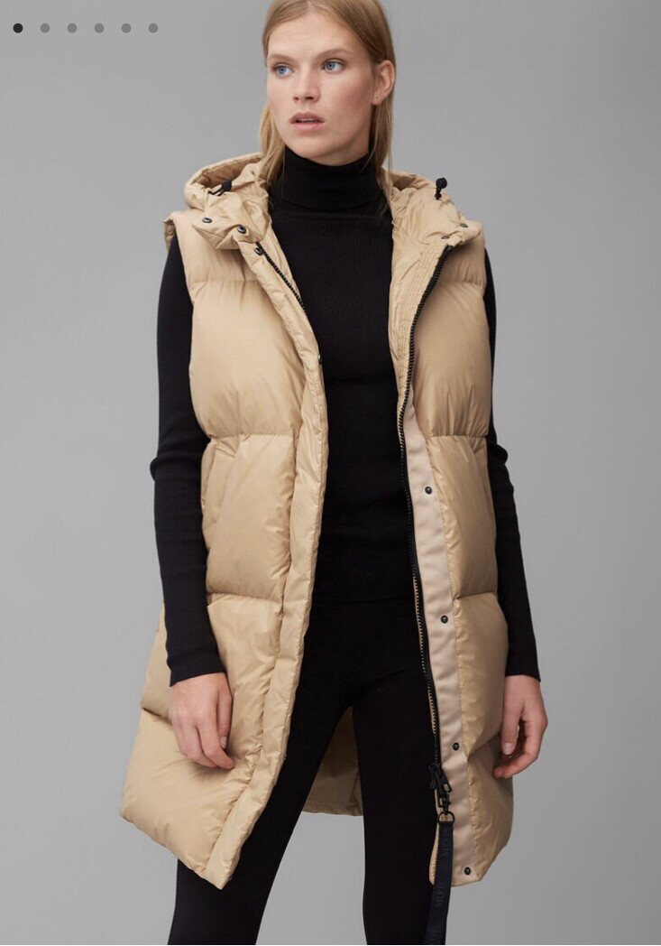 Camel Sleeveless Gilet
