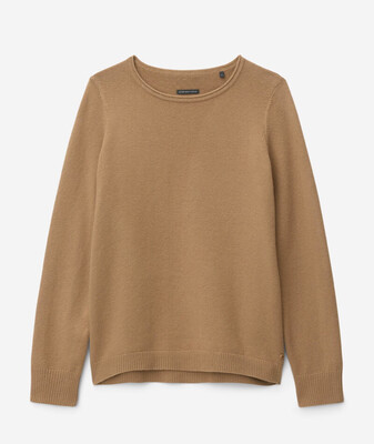 True Camel Cotton Wool Knit