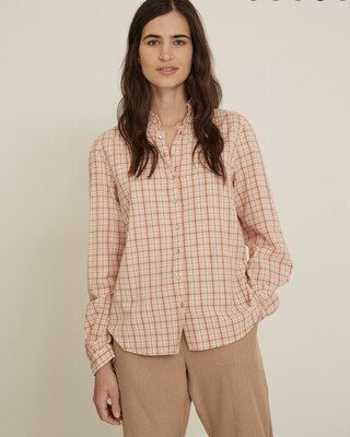 Rose Check Shirt