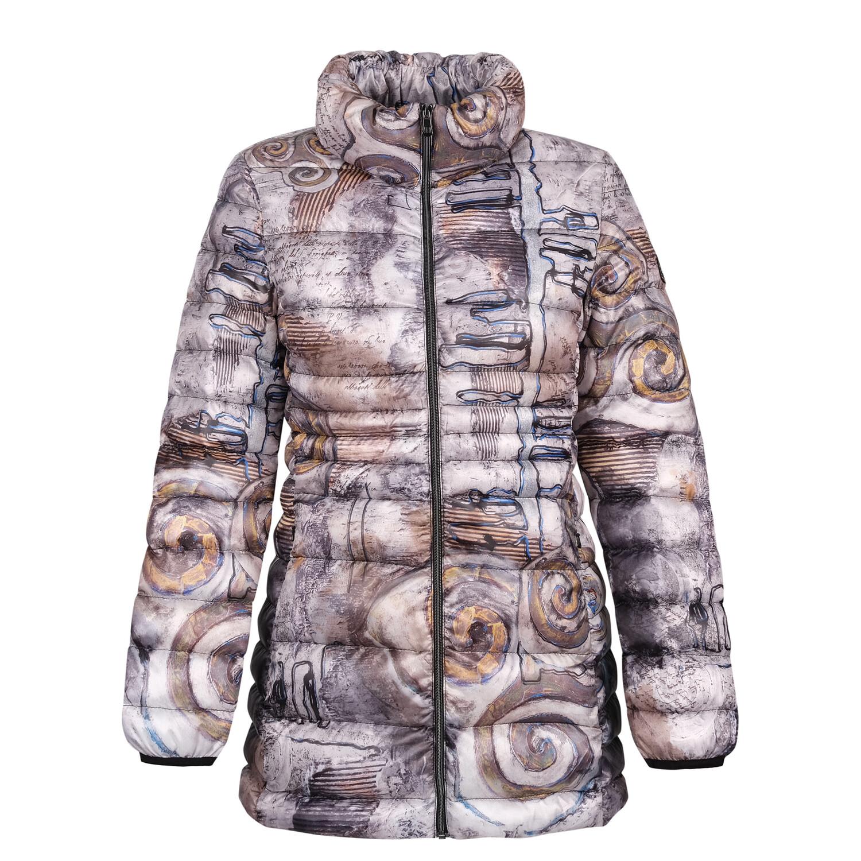 Grey Print Jacket