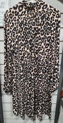 Leopard Print Tunic Dress