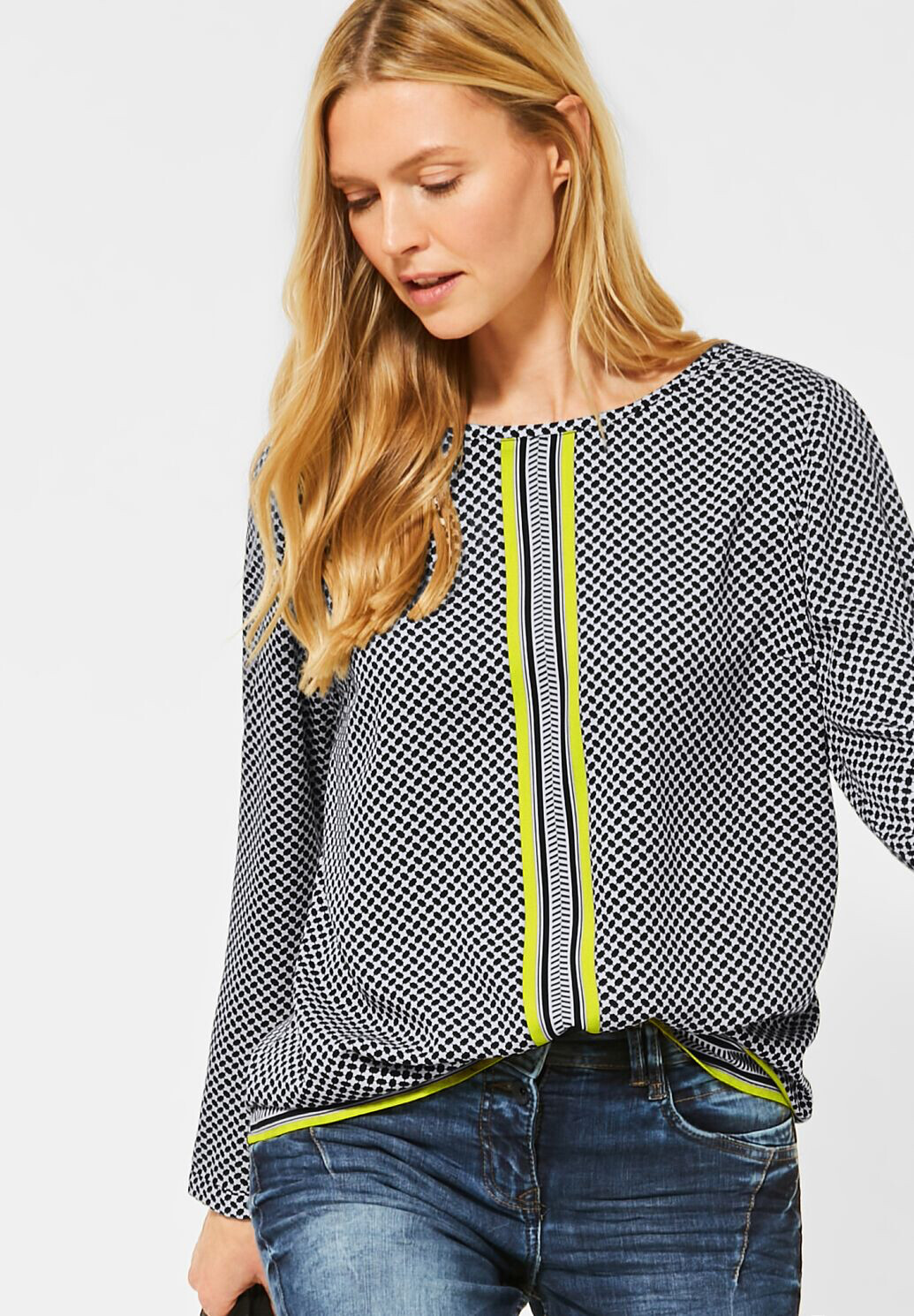 Placed Minimal Blouse