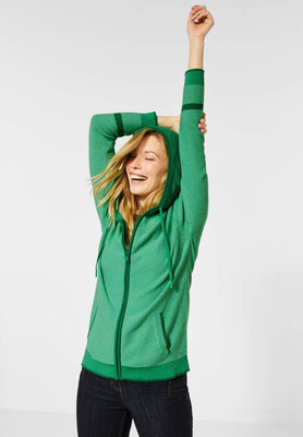 Green Structured Hoody
