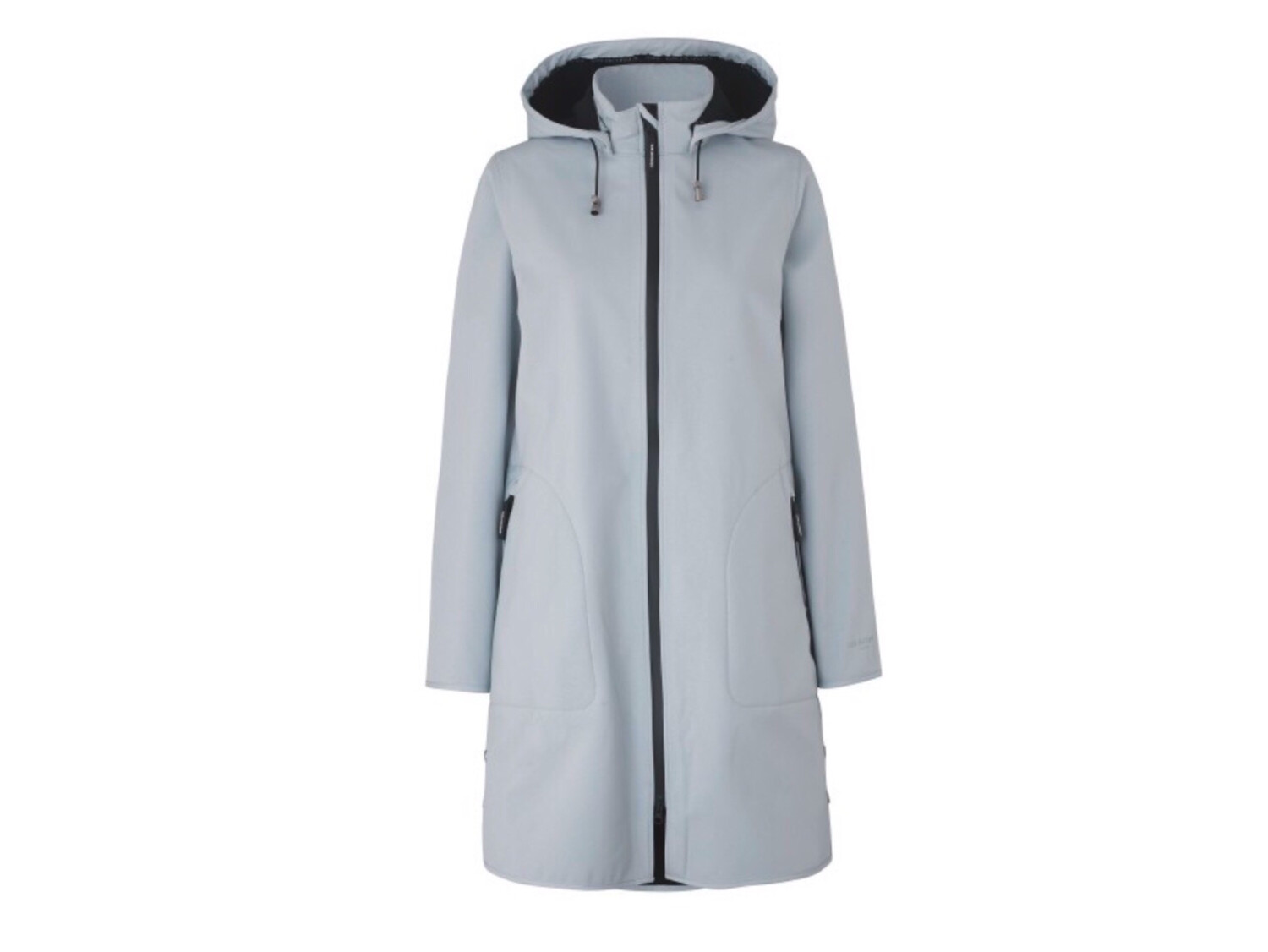 White Blue Rain128 Raincoat