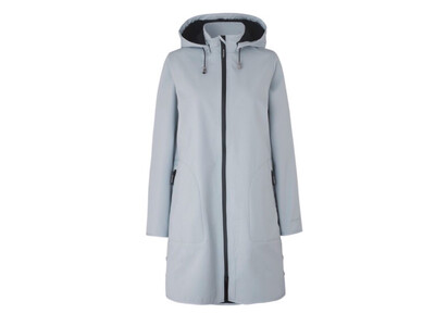 White Blue Rain128 Raincoat