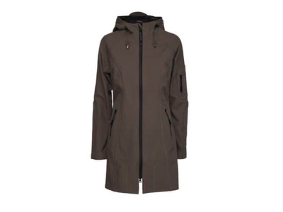 Dark Ash Raincoat