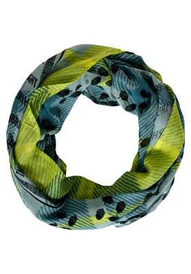 Patchwork and Foil Print Snood