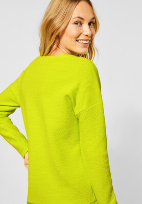 Lime Jumper with Draw String