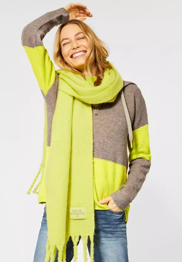 Mocca Brown And Lime Hoodie