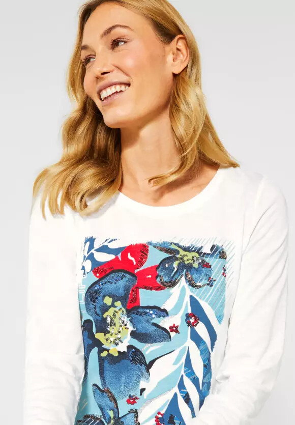 Bloom Up Your Life Floral T-shirt