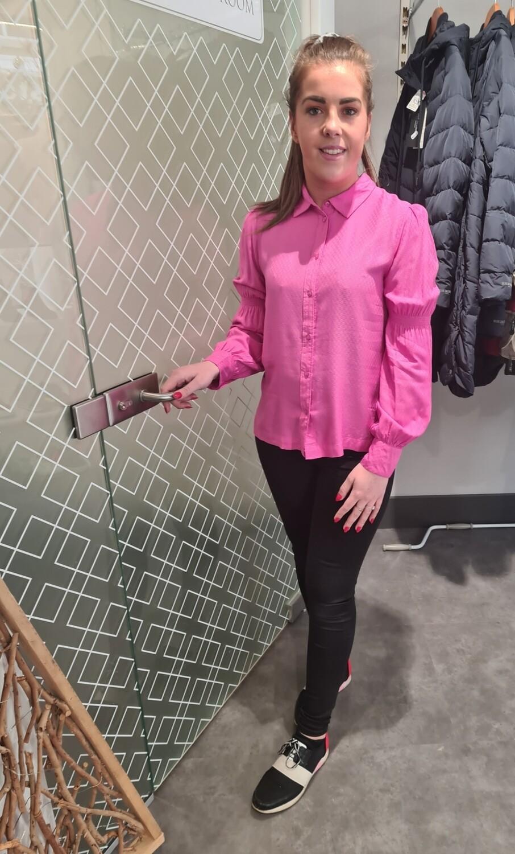 Super Pink Blouse