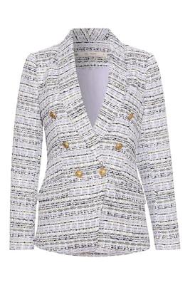 Lilac Tweed Blazer