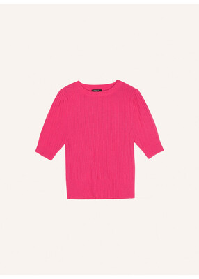 'Naly' Fushia Soft Knit