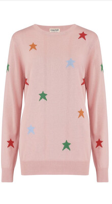 Rita Jumper - Pink, Sugar Starburst