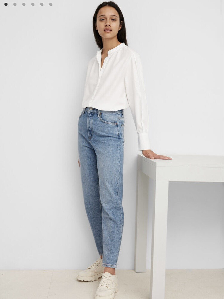 SUSTAINABLE White Blouse Made of Tencel