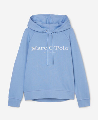 Organic Cotton Hooded Sweatshirt - Blue Note