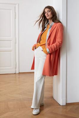 Apricot Coat In Classic Cut