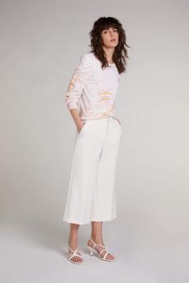 Antique White Culotte Pants